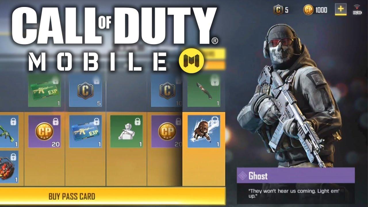 Kết quả hình ảnh cho battle pass call of duty mobile