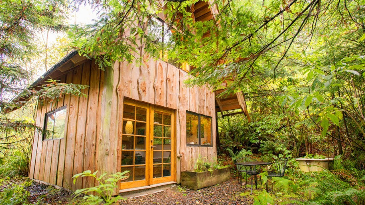The Japanese Forest Tiny House Lovely Tiny House Youtube