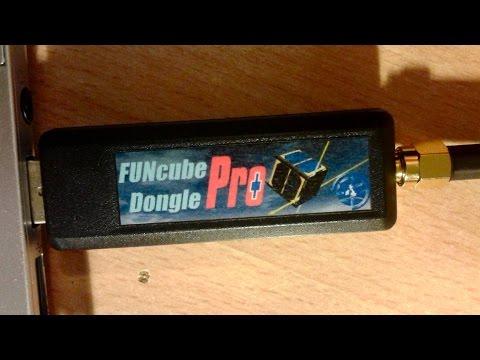 FUNcube Dongle Pro+ and RTTY decoding programs
