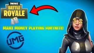 HOW TO MAKE MONEY PLAYING FORTNITE! | UMG TOURNAMENTS & WAGER MATCHES (STILL WORKS 2019)