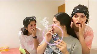 مقلب الدخان بأختي 😱!!!