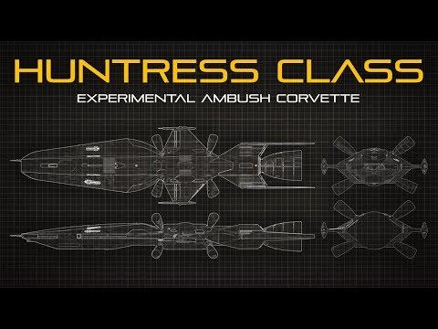 The Sojourn: Huntress Class Ambush Corvette (Guinevere) - Ship Breakdown