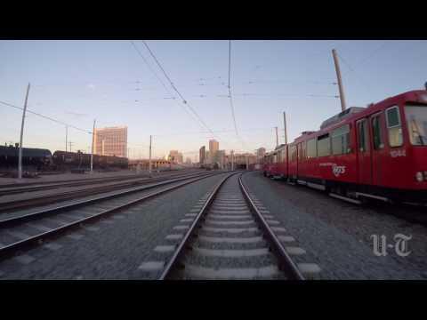 San Diego Trolley GOPRO timelapse
