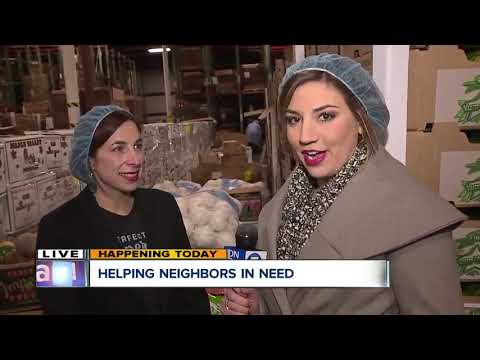 Local Business donates 5,000 lbs to Hunger Network of Greater Cleveland