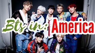 BTS IN AMERICA reaction