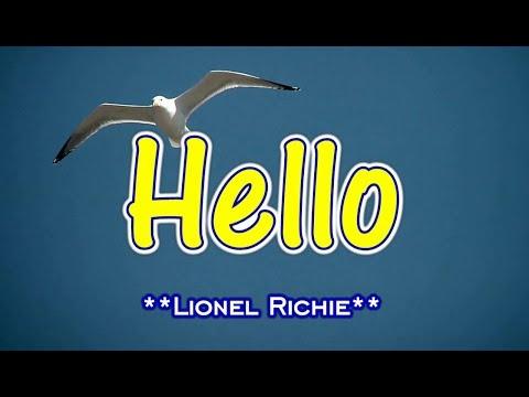 Hello - Lionel Richie (KARAOKE VERSION)