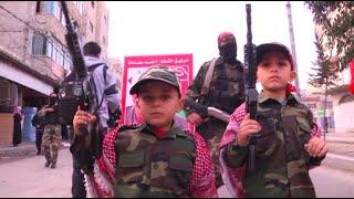 PFLP celebrate 47th anniversary, march in Gaza