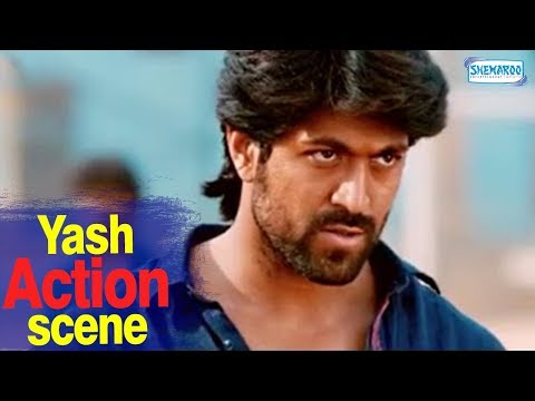 Masterpiece Hero Yash Dialogue With Fight Promo | Mr And Mrs Ramachari Kannada Full Movie 2015 HD