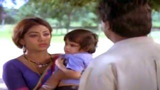 Alludugaru Movie || Mohan Babu & Shobana Sentiment Scene || Mohan Babu, Shobana