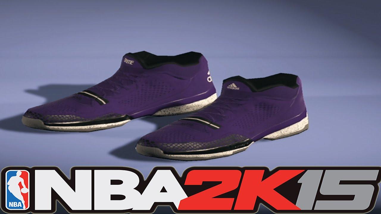 72dbffaa97c NBA2K15 Next Gen Shoes - Adidas D Lillard 1 Weber State - YouTube