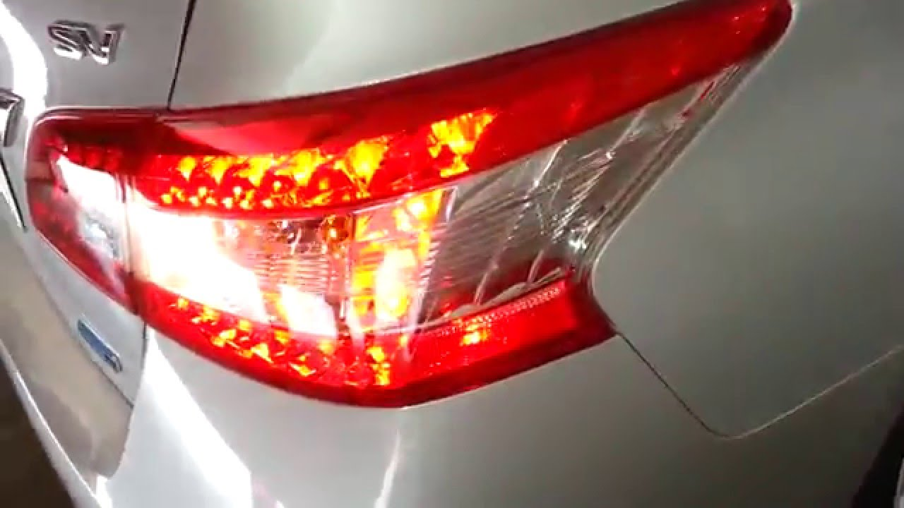 2013-2015 Nissan Sentra - Testing Tail Lights After ...
