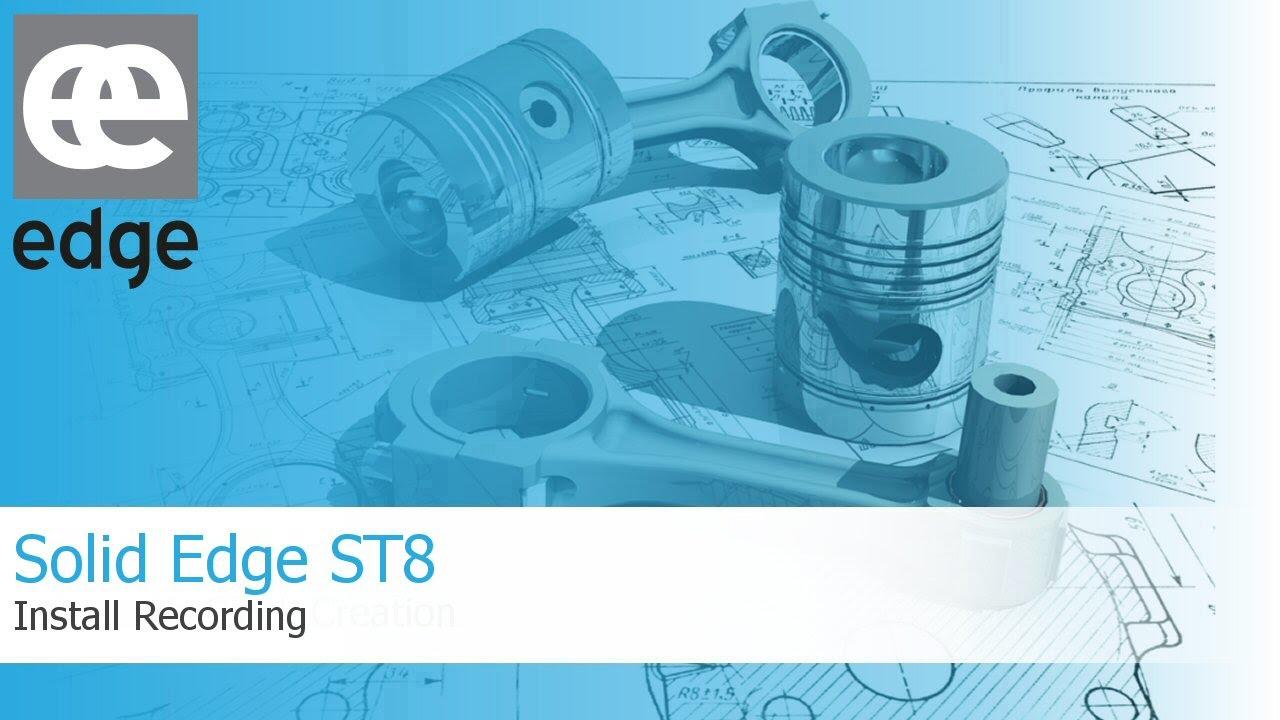 ST8 GRATUIT SOLID EDGE TÉLÉCHARGER