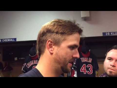 Lonnie Chisenhall on 3-run homer vs Toronto