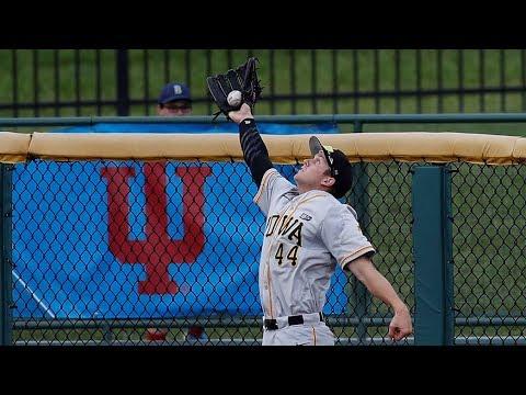 Iowa Baseball Defeats Minnesota in 13