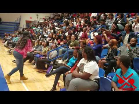 Yung Gordon performs at Florida Memorial University 2016 Prospect Day