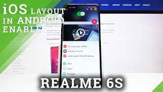 How to Install iOS Menu in Realme 6s - Download iOS Launcher
