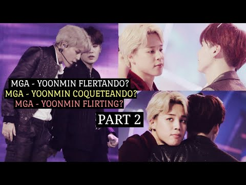 Yoonmin (Análise|Análisis|Analysis) PART 2; MGA - Yoonmin flirting? [PT/ESP/ENG]