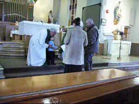 Visite de Mgr Gilles Lemay à l'église de St-Adrien...