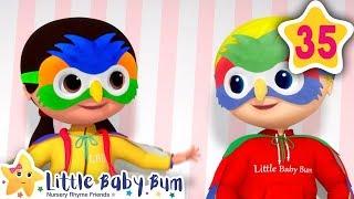 I'm A Bird, I'm A Bird | Fun Learning with LittleBabyBum | NurseryRhymes for Kids