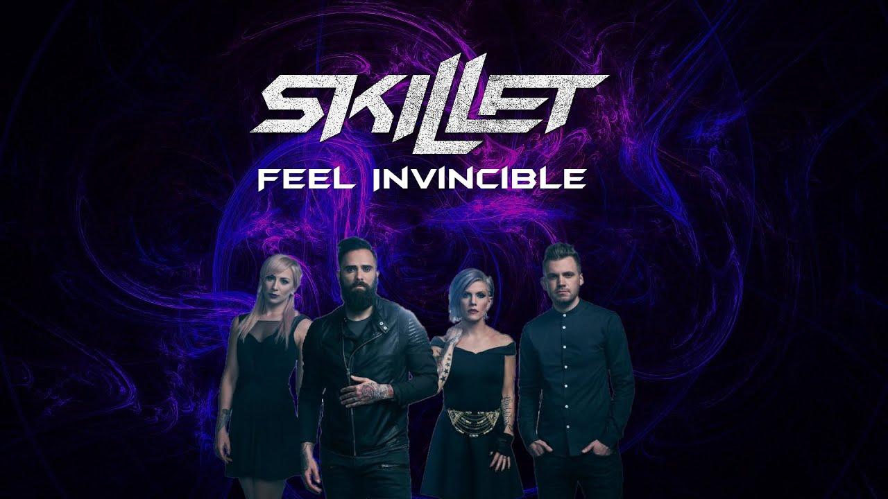 skillet feel invincible lyrics youtube