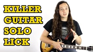 Killer Guitar Solo Lick + TAB