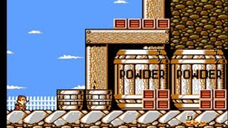 Chip N Dale Rescue Rangers 2 Nes Full Playthrough No Hits Run