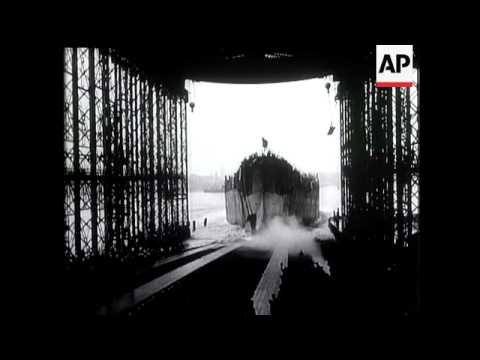 35,000 Ton Battleship Launched