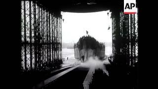 35,000 Ton Battleship Launched