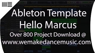 ABLETON TEMPLATE   Markus Schulz Trance Music Production - Hello Marcus by Magic Tracks