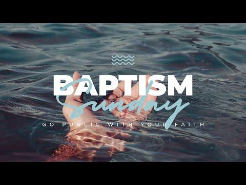 BAPTISM SUNDAY!! || October 4, 2020 || 10AM