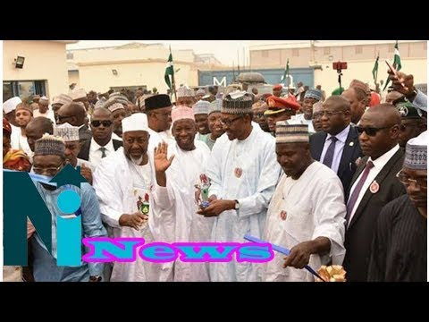 #pmbinkano | buhari visits biggest oil mills in west africa (photos)