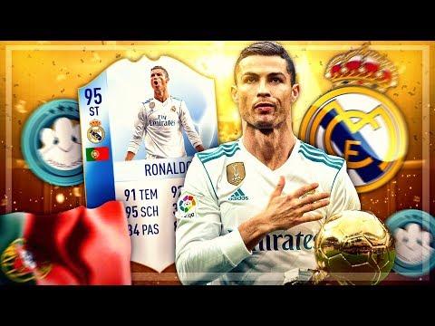 FIFA 18: ST 95 RONALDO SQUAD BUILDER BATTLE vs TISI SCHUBECH