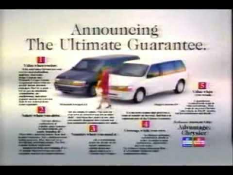 Plymouth Voyager Dodge Caravan 92