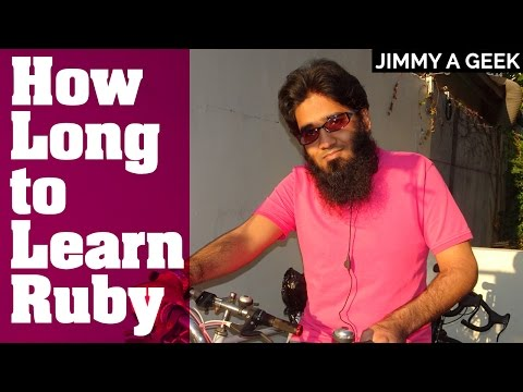 How Long it Take to Learn Ruby Programming + Ruby on Rails