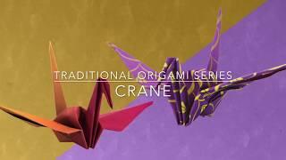 Traditional Origami Crane (Level 3: Moderate)