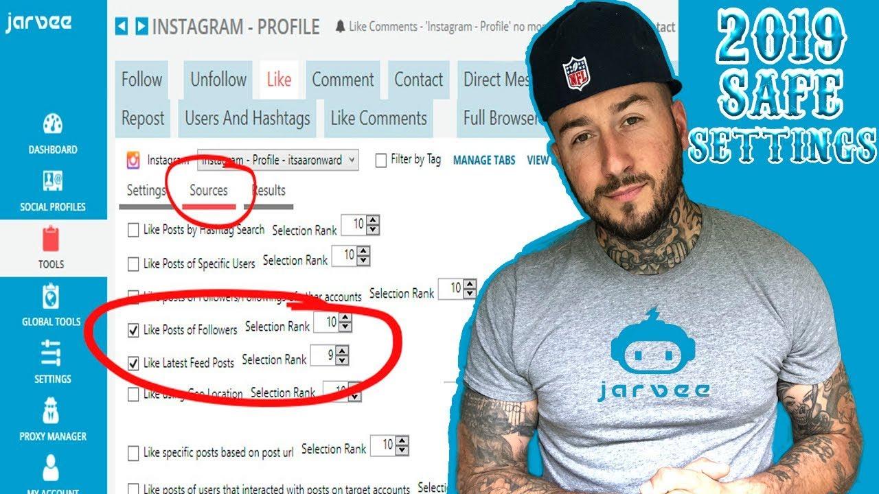 Updated Jarvee Tutorial - 2019 - Safe Settings by The Tattooed Entrepreneur