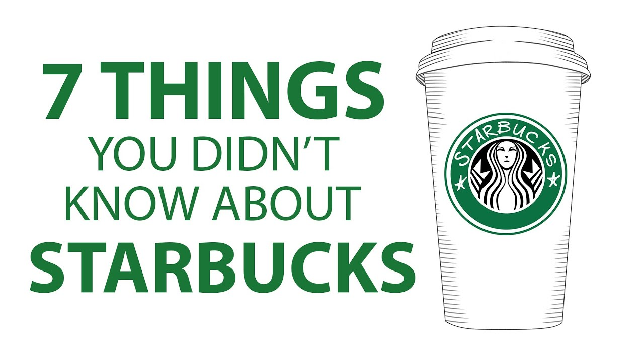 7 Things You Didn't Know About Starbucks  Mashable  Youtube