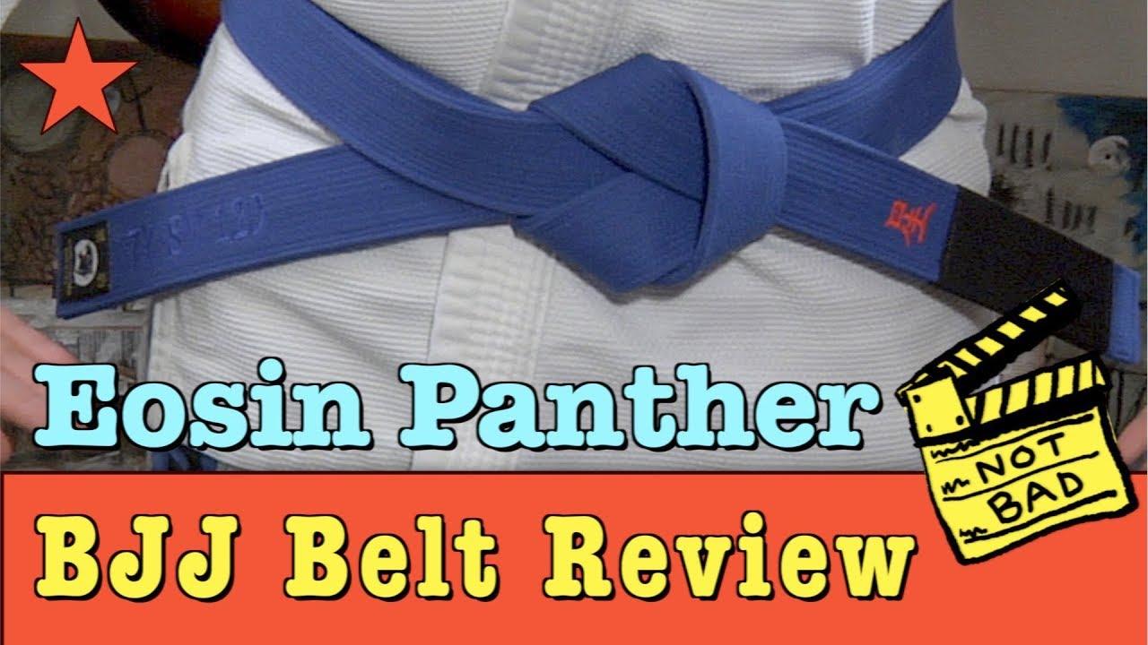 Jiu-Jitsu Belt Review: Eosin Panther