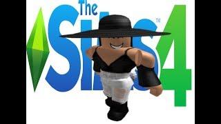 Sims 4 - France CAS: Mon personnage ROBLOX