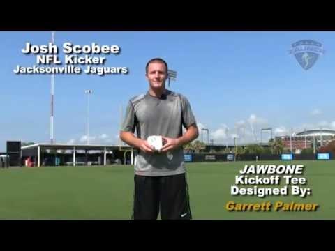 Josh Scobee (Jacksonville Jaguars) Talks About The JAWBONE Kickoff Tee.