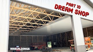 Build the Dream: Episode 10 - Installing a Metal Ceiling