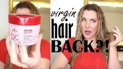 SCHWARZKOPF REPAIR RESCUE MASK : VIRGIN HAIR BACK??! UNSPONSORED TRUTH