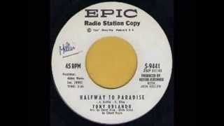 TONY ORLANDO - HALFWAY TO PARADISE - EPIC 5 9441
