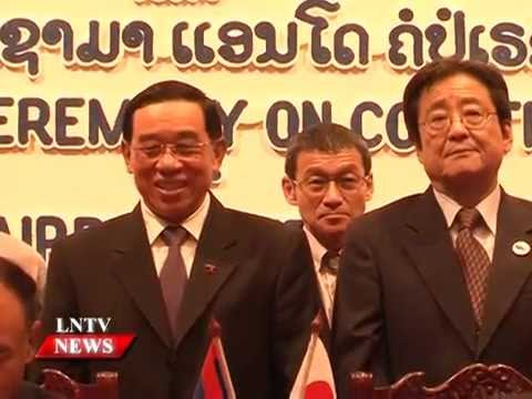 Lao NEWS on LNTV: Expansion of Vientiane's Wattay International Airport.14/10/2015