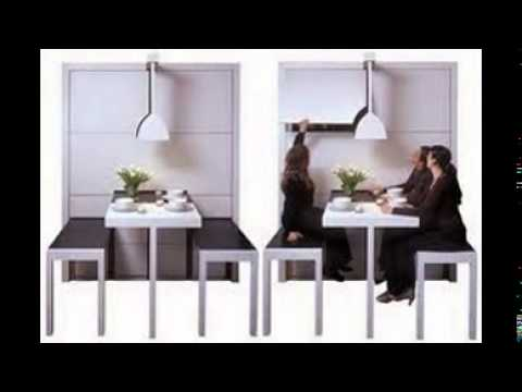 fold away dining table - youtube