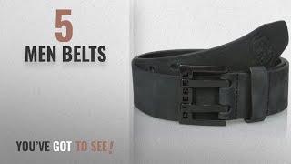 Diesel Belts [ Winter 2018 ]: Diesel Men's Bit Belt, Black, 75
