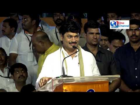 DHANANJAY MUNDE SPEECH AT CONGRESS NCP NANDED RALLY ON 20 FEB 2019