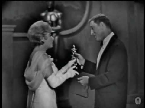 Burt Lancaster winning Best Actor