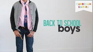 Back to School Outfit Ideas: 10 Items - 10 Outfits for Boys Thumbnail