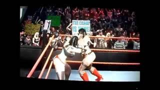 WWE DIVAS Hellen Ganzalori VS Reiko RUMBLE ROSES A CHERIFE MOSTRANDO TUDO LESBIAN KISS YURI